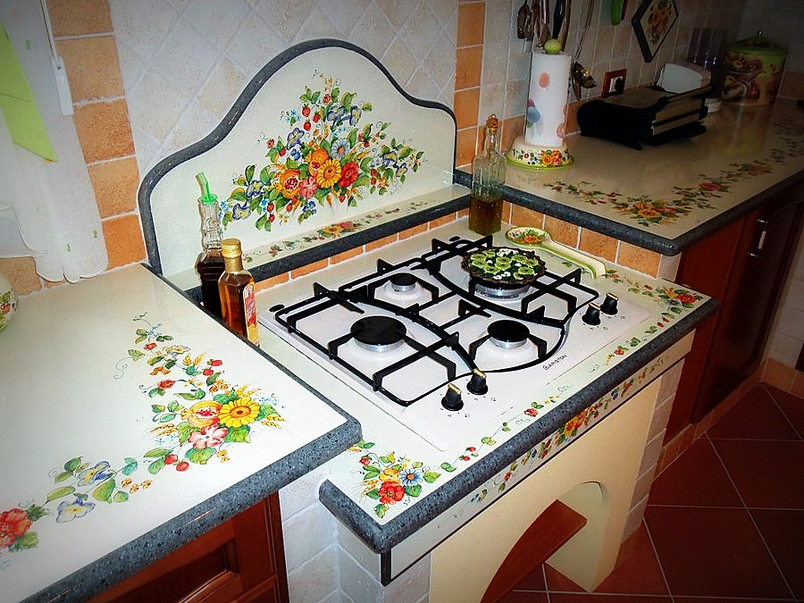 Beautiful Cucina In Pietra Lavica Images - Ideas & Design 2017 ...