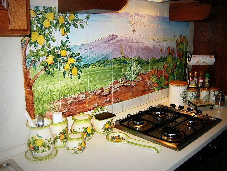 Top cucina pietra lavica giarre creart ceramiche - Piastrelle pietra lavica ...