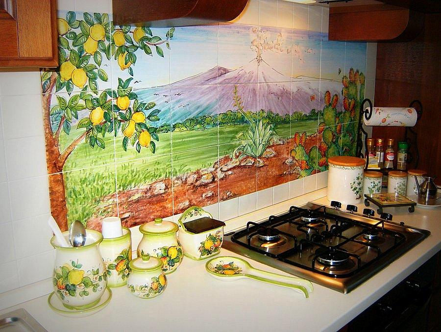 Piastrelle Decorate a Mano, Rivestimenti e Complementi di Arredo ...