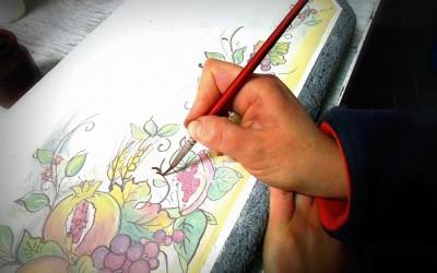 Piastrelle Decorate a Mano
